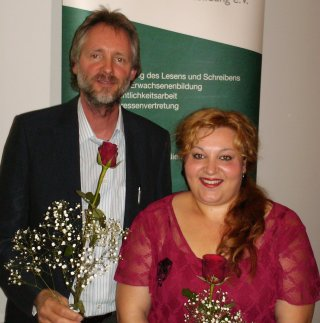 Anja Inep mit Achim Scholz