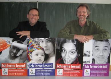 Dirk Auschra mit Achim Scholz