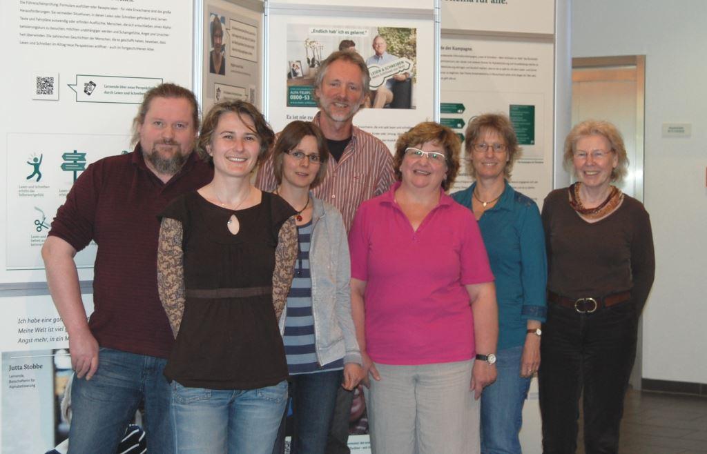 Bild: Das Team der Alphabetisierung an der VHS Oldenburg