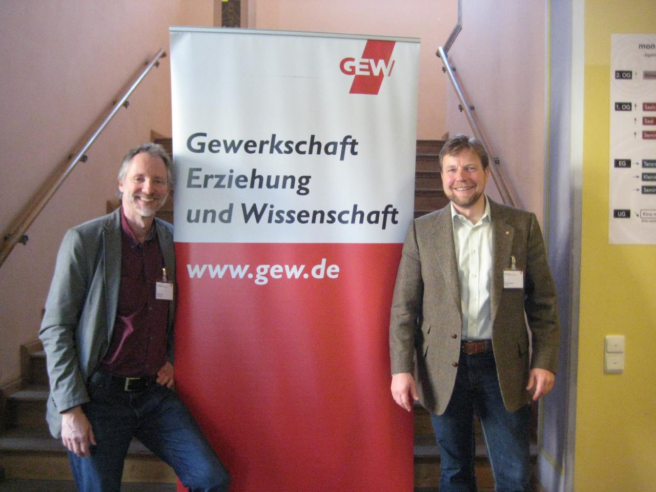 Achim Scholz und Tim-Thilo Fellmer