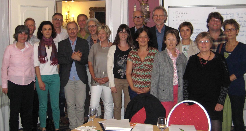 Experten-Workshop mit den Referenten Achim Scholz (6.v.r.) und Kees Hammink (8.v.r.)