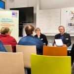 Lesung mit Brigitte van der Velde und Achim Scholz | Foto: Eiko Braatz