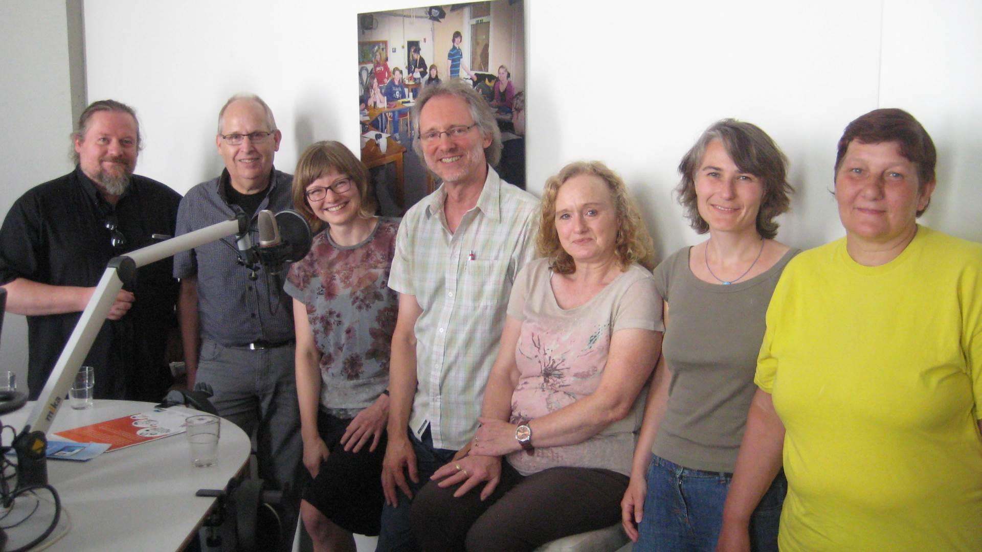 von li.: Cornelius, Lorenzen, Drosdowska, Scholz, Varrelmann, Engel, Janßen