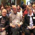 von li.: Ernst Lorenzen, Achim Scholz, Brigitte van der Velde