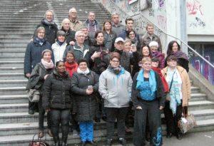 Lernende und Lernbegleiter aus 5 europäischen Ländern