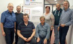 Mitglieder der ABC-Selbsthilfegruppe Oldenburg mit Mentor Achim Scholz (re.) / Foto: Brigitte van der Velde