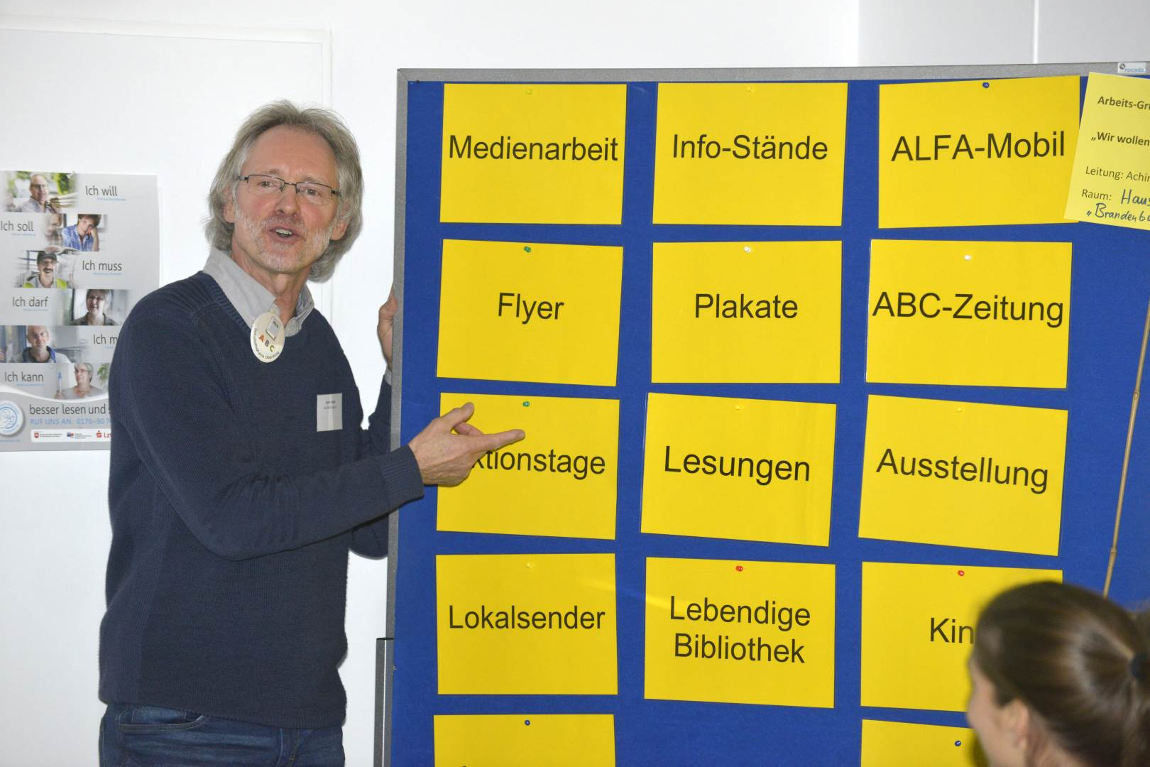 Achim Scholz im Workshop des GBZ-Fachtages | Foto: Thomas Ernst