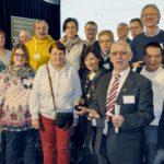 Lerner, Botschafter und Lernbegleiter bei der Nationalen Fachtagung der Stichting Lezen & Schrijven in Utrecht   Foto: Urs Chiara