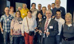 Lerner, Botschafter und Lernbegleiter bei der Nationalen Fachtagung der Stichting Lezen & Schrijven in Utrecht | Foto: Urs Chiara