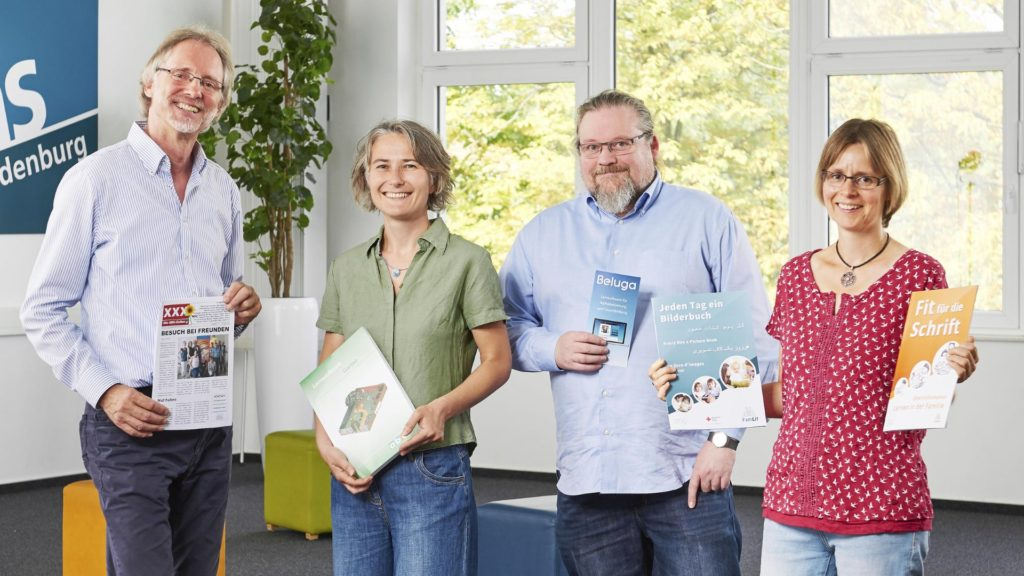 Von li.: Achim Scholz, Nadine Engel, Karsten Cornelius, Kathleen Bleßmann