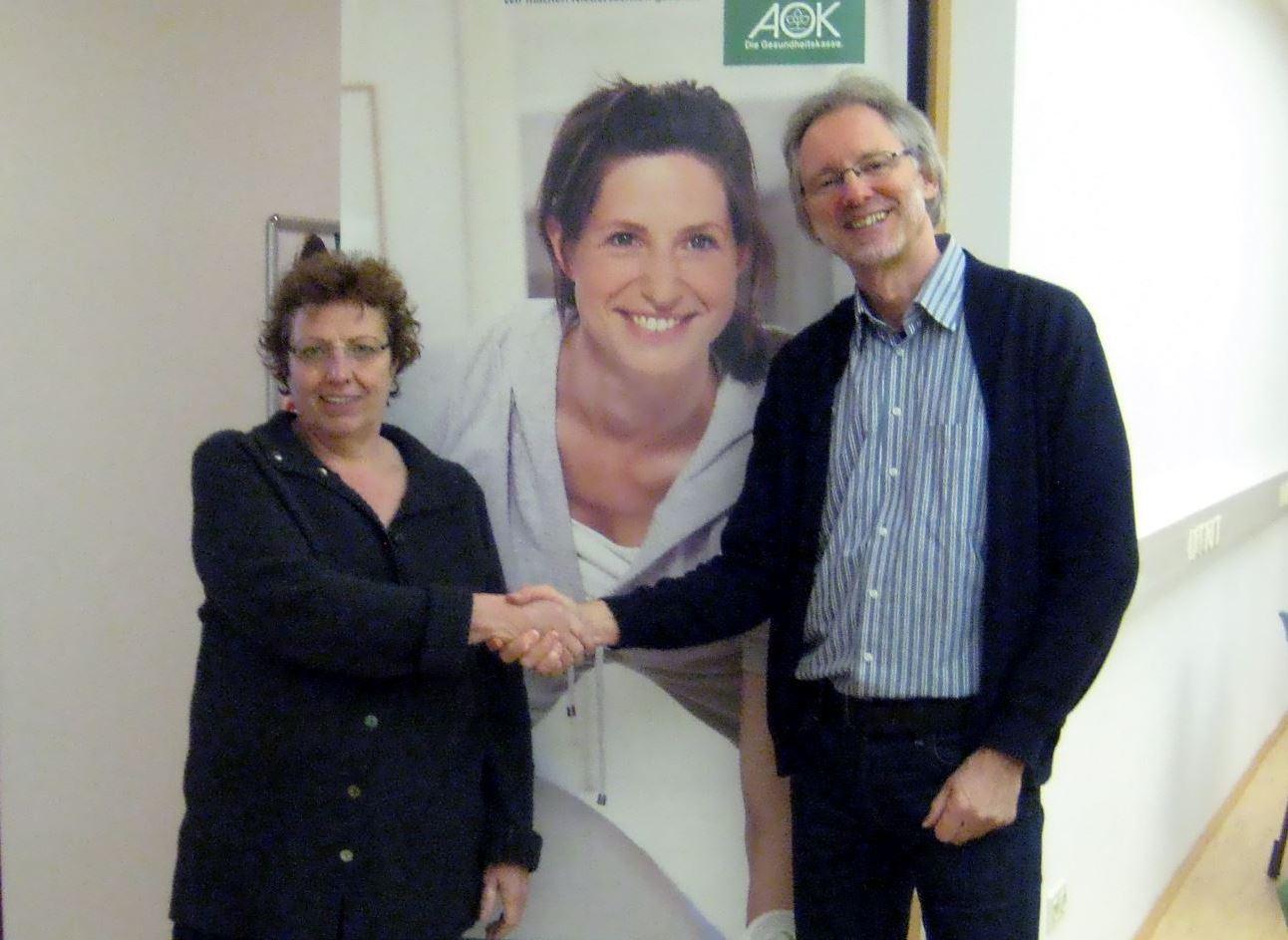 Kornelia Kreuzburg-Marks und Achim Scholz