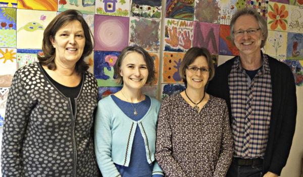 Foto Von li.: Jutta Hinrichsen, Nadine Engel, Kathleen Bleßmann, Achim Scholz