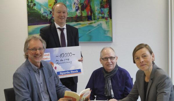 Von li.: Achim Scholz, Markus Fettback, Ernst Lorenzen, Frauke Sterwerf | Foto: Susanne Kunkel
