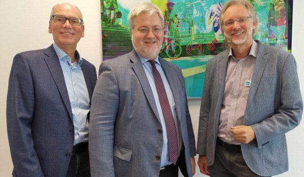 Von li.: Andreas Gögel, Stephan Albani, Achim Scholz / Foto: Katharina Nordenbrock