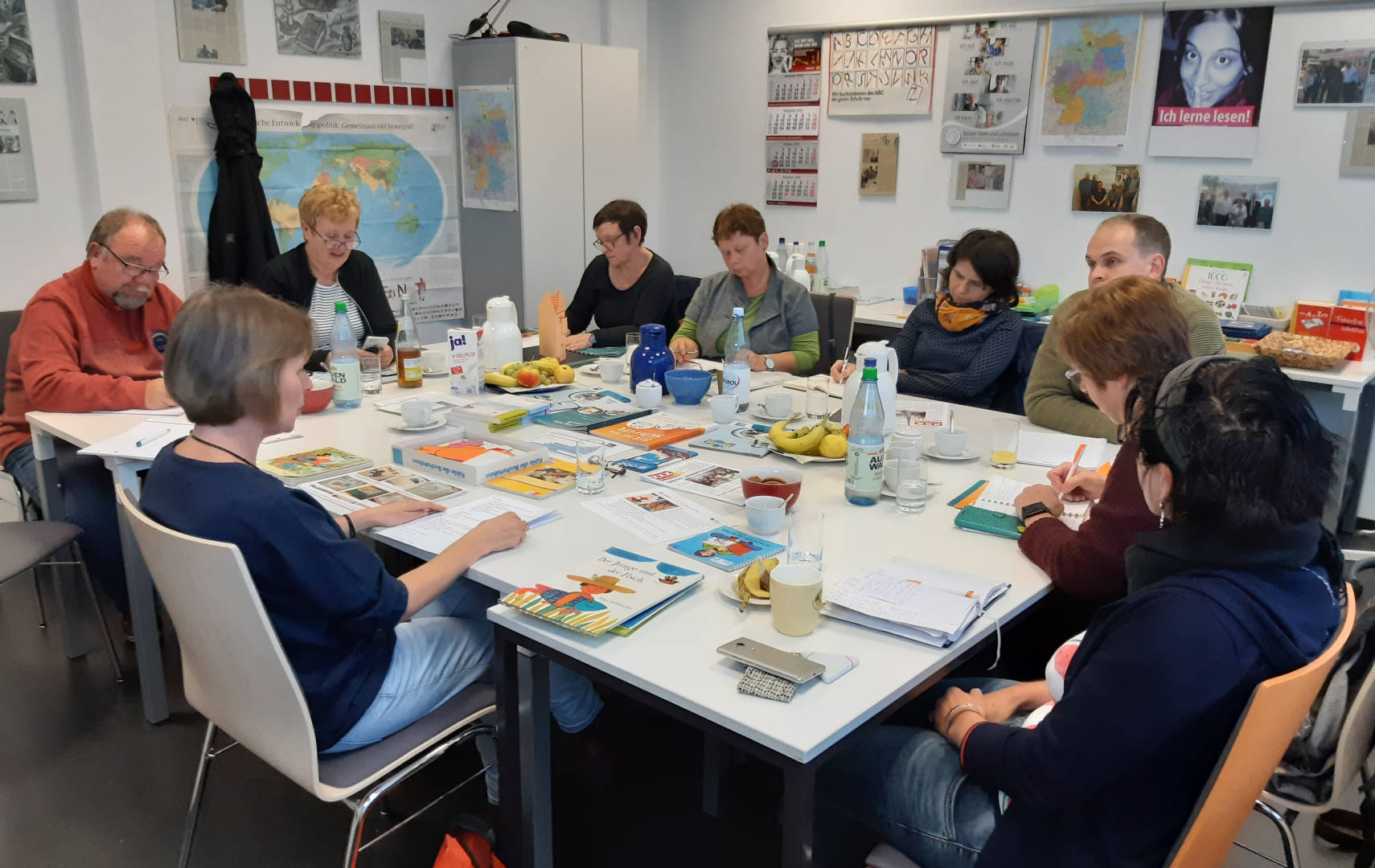 Kathleen Bleßmann präsentiert Offene Lernwerkstätten