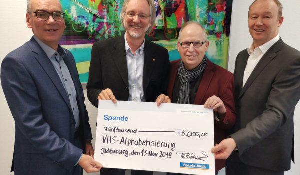 Von li.: Andreas Gögel, Achim Scholz, Ernst Lorenzen, Markus Fettback | Foto: Katharina Nordenbrock